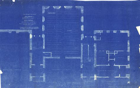 Building Blueprint Exles Blue Building Blueprints