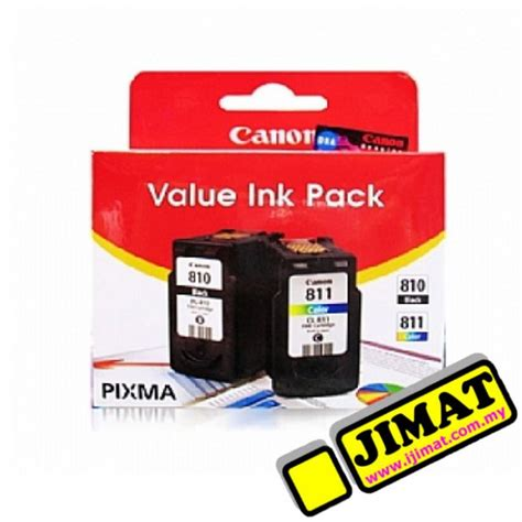 Canon Cl 811 Color Ink Cartridge canon pg 810 cl 811 value pack ink cartridge cmyk