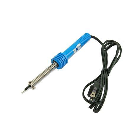hakko 40 watt soldering iron kit in blue 508 1 p the home depot