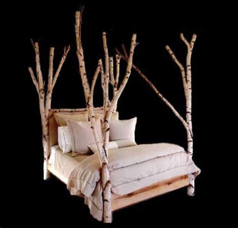 tree beds 15 000 tree bed from rustic furniture freshome com