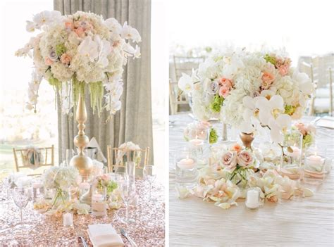 Hochzeitsdeko Lachsfarben by 30 Reizende Blumen Arrangements Als Hochzeitsdeko