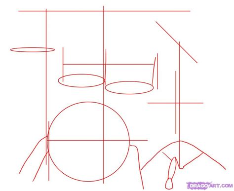 drum tutorial easy how to draw drums step by step percussion musical