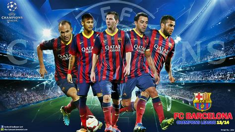 wallpaper barcelona fc 2014 fc barcelona chions league wallpaper wallpapersafari