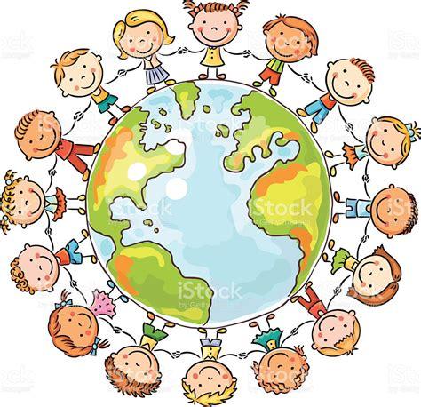 clipart mondo i bambini di tutto il mondo illustrazione 466519564 istock