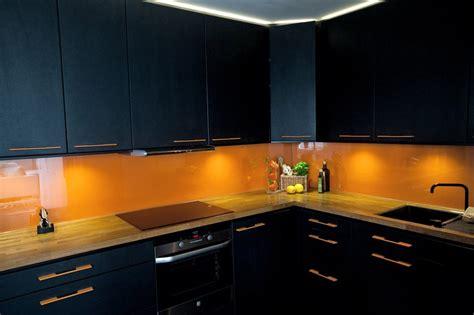orange glass backsplash 1000 images about kitchen on studios orange