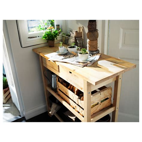 kitchen islands for sale ikea f 214 rh 214 ja kitchen trolley birch 100x43 cm ikea