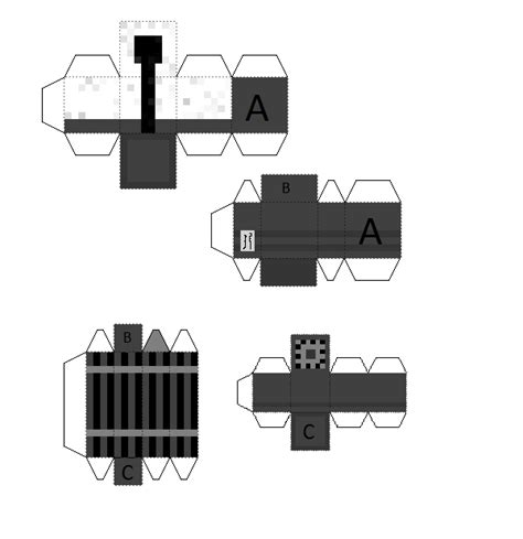 Paper Craft Gun - papercraft minigun