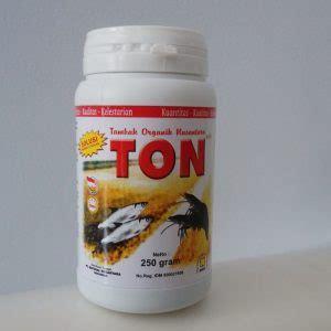 Harga Pupuk Ton Dari Nasa pupuk tambak organik nusantara ton nasa 250 gram