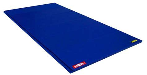 8 Inch Gymnastics Mat by Norbert S Blue 6 X 12 Ft X 1 3 8 Inch Standard Crosslink