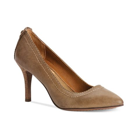 calvin klein shoes calvin klein shoes ryleigh pumps in brown warm grey