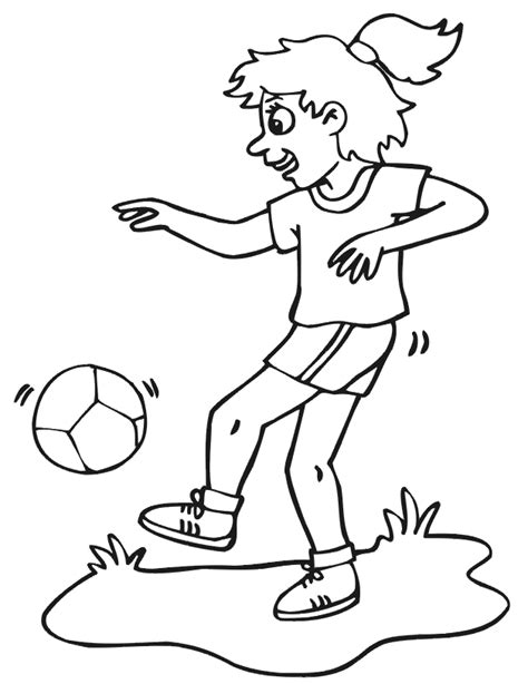 Soccer Coloring Pages Coloring Pages To Print Soccer Color Pages