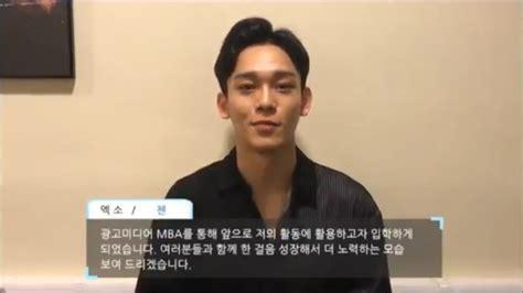 Mba Program At Hanyang Cyber by Jin Of Bts Chen Of Exo Enter Graduate School At Hanyang