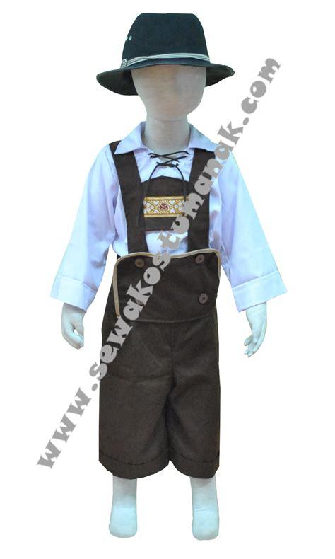 Tenda Anak Second kostum negara jerman kostum tradisional jerman sewa