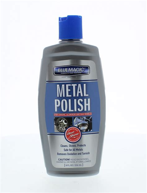 chrome cleaner blue magic 200 06 8 oz metal polish cleaner chrome brass
