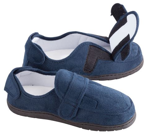 large slippers for swollen adjustable swollen loafers mens large
