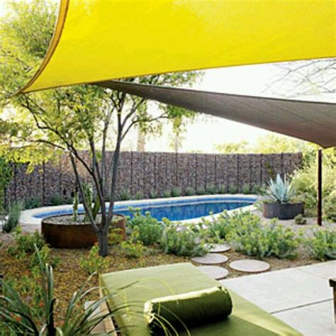 backyard sails 39 best images about shade sails on pinterest gardens