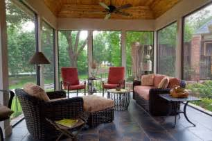 Enclosed Patio Designs Screened Enclosed Patio Traditional Porch Dallas