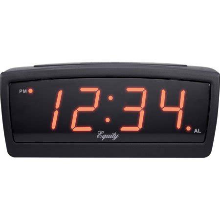 equity by la crosse 12 volt truckers alarm clock walmart