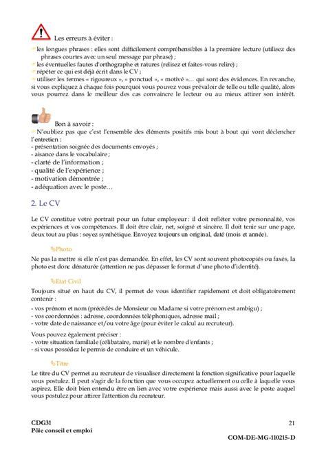Lettre De Motivation De Titularisation guide pratique du demandeur d emploi fonction publique