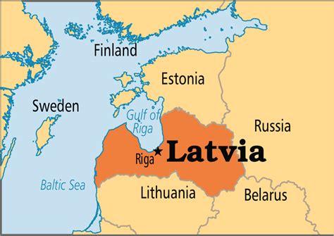 latvia on the world map latvia operation world