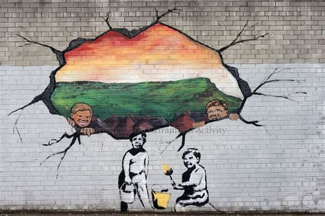 Paint A Wall Mural belfast banksy extramural activity