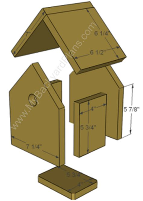 Best Bird House Plans Best Photos Of Printable Bird House Plans House Finch