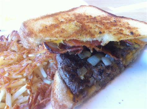 waffle house college park ga texas bacon angus patty melt damn good yelp
