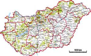 highway map of maps of hungary detailed map of hungary in