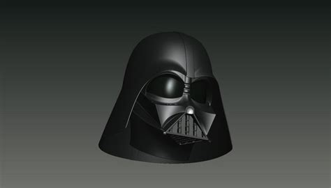 design darth vader helmet 3d darth vader helmet on behance