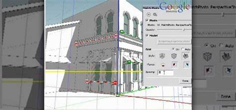 tutorial sketchup photo match how to match photos when modeling in google sketchup