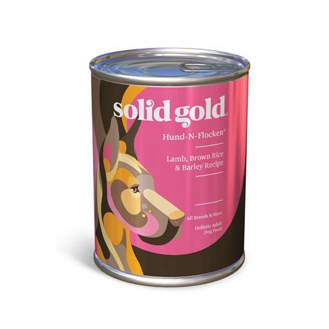 solid gold puppy food solid gold hund n flocken brown rice barley canned food petco