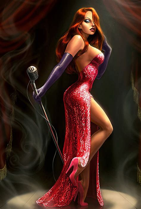 jessica rabbit botched kittenish behaviour i m not bad i m just drawn that way