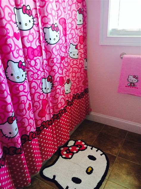 hello kitty bathroom decor pink hello kitty bathroom decor image 2213859 by taraa