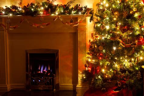 free fireplace christmas photos tree with fireplace free stock photo domain pictures