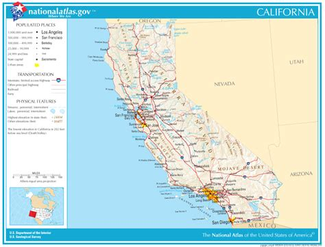 california county map interactive california state maps interactive california state road