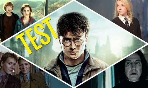 harry potter test test harry potter 191 qu 233 personaje ser 237 as