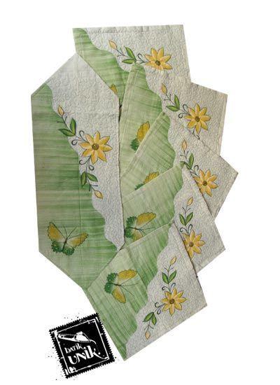 Ezpatal Sarung Bantal Kursi Tamu Satu Set Motif Batik T sarung bantal kursi batik motif batik lukis bunga promo