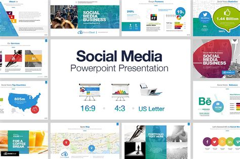 ppt templates free download social social media powerpoint template free images templates