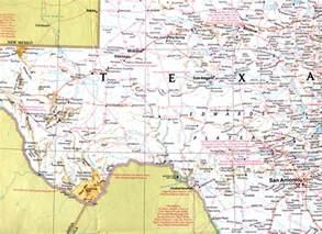 map west cities interstate 10 west photos pecos crockett counties