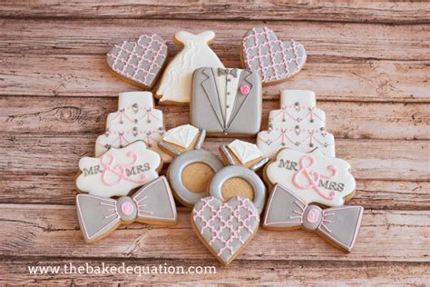 easy bridal shower cookie recipes bridal shower cookies the baked equation