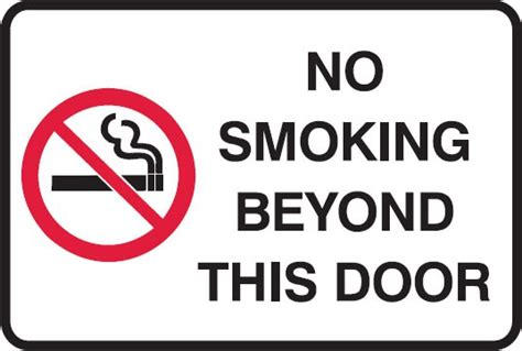 no smoking sign iq no smoking signs no smoking beyond this door no