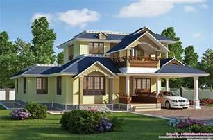 Exquisite Sloping Roof Villa Design Free House Architecture Design
