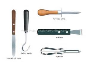 Names Of Knives In The Kitchen by Food Amp Kitchen Kitchen Kitchen Utensils Examples