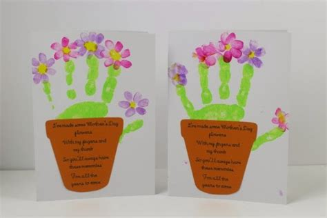 mothers day cards for children to make a thrifty 5 things i done this week to save