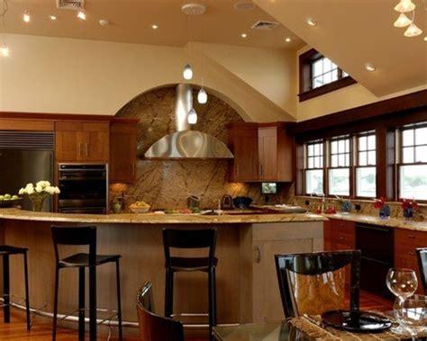 Modern Round Kitchen Island Interesting Ideas   Interior