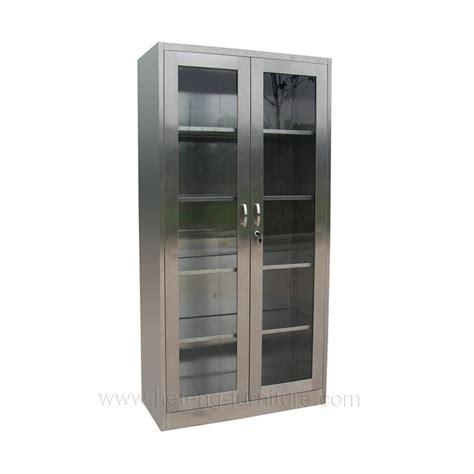 Lemari Dapur Stainless Steel stainless steel lemari kantor hefeng furniture