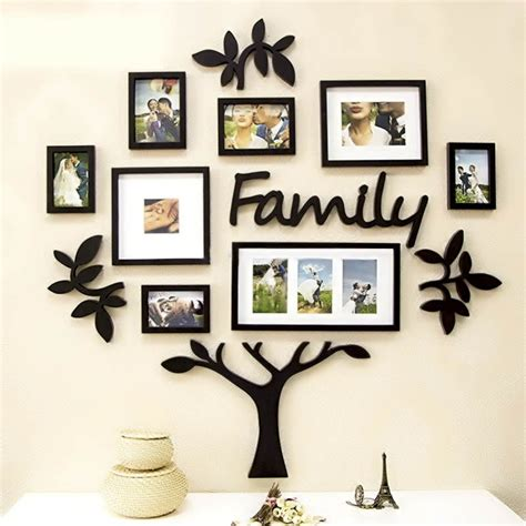 home wall decor online frame set family tree acrylic wall art elifor online