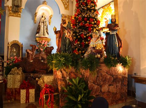 28 best churches decorated for christmas candon church