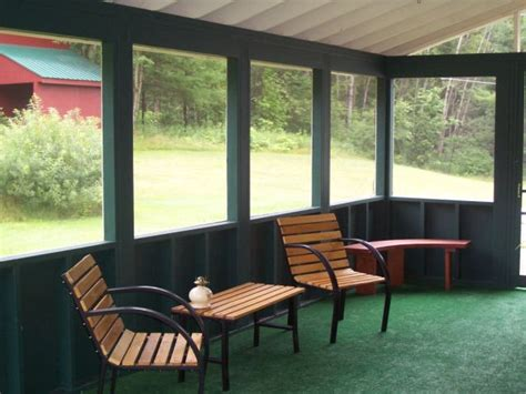 Screened In Back Patio by Huckstep Screened In Porch