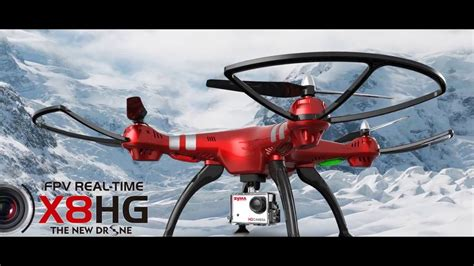 Drone X8hg syma x8hg fpv real time 2016 new drone